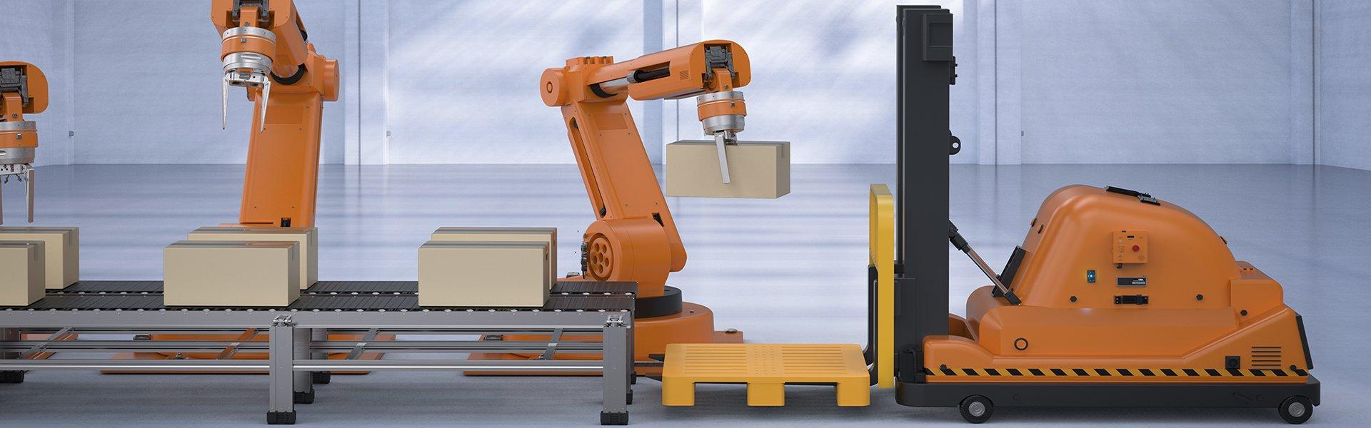 Industrial Drones and Robotics